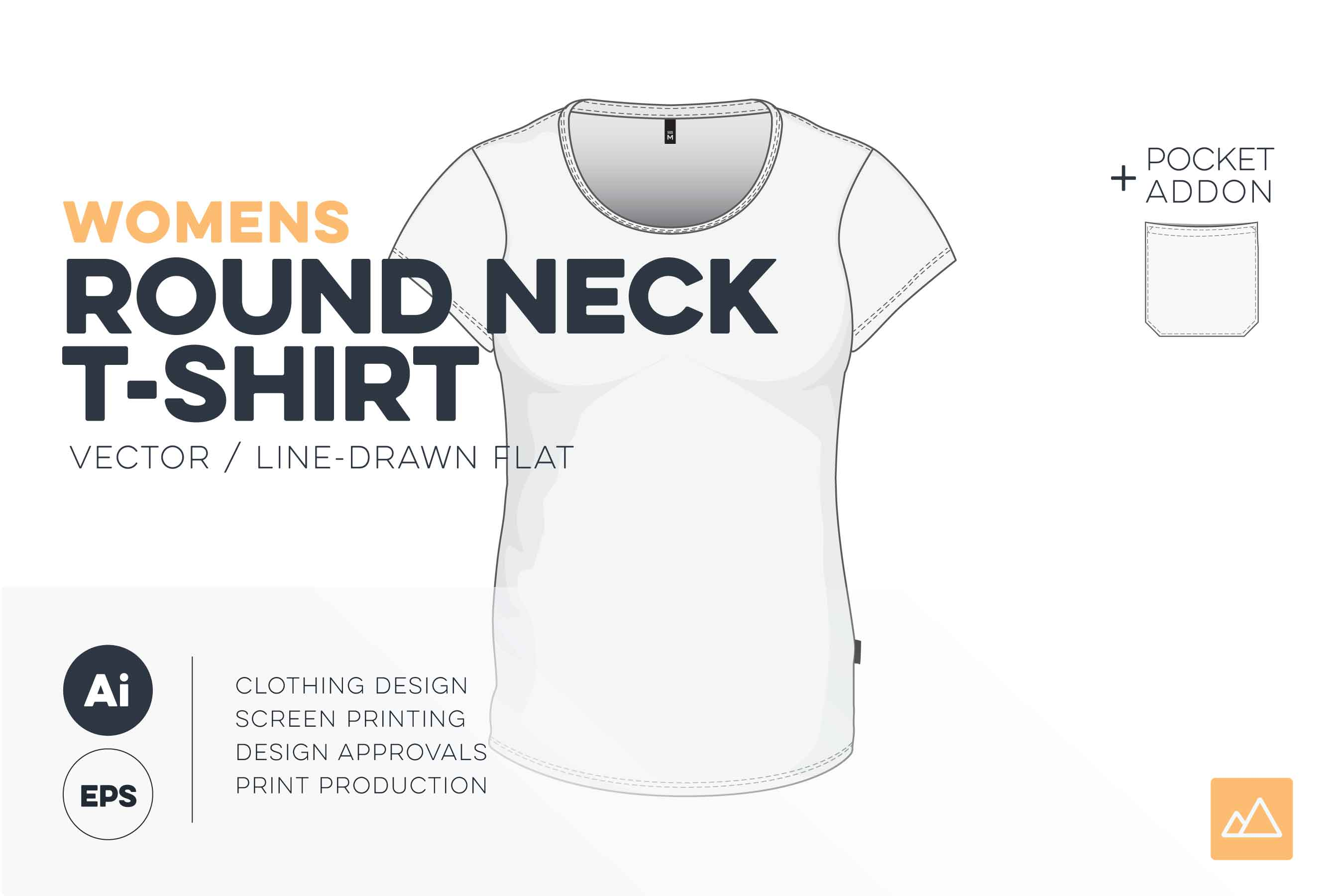 Womens-round-neck-t-shirt-template-vector-pack_HERO