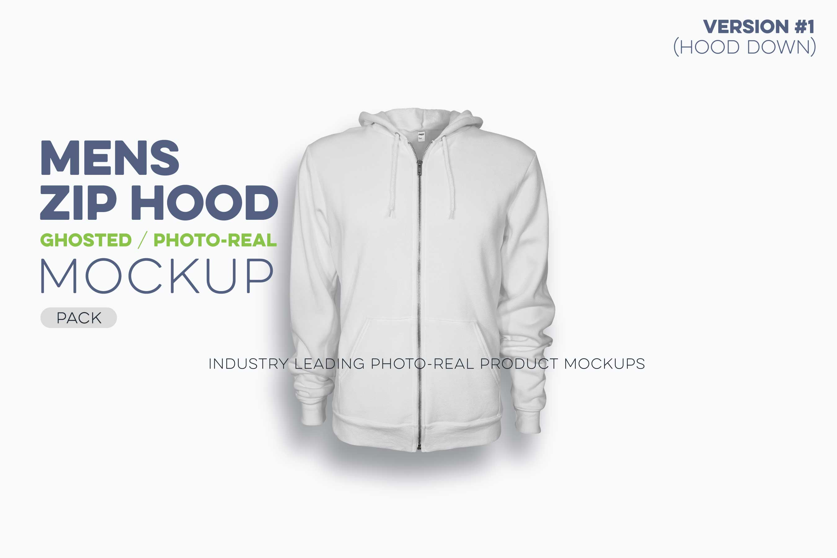 mens ghosted zip hood mockups version 1 hoodie N