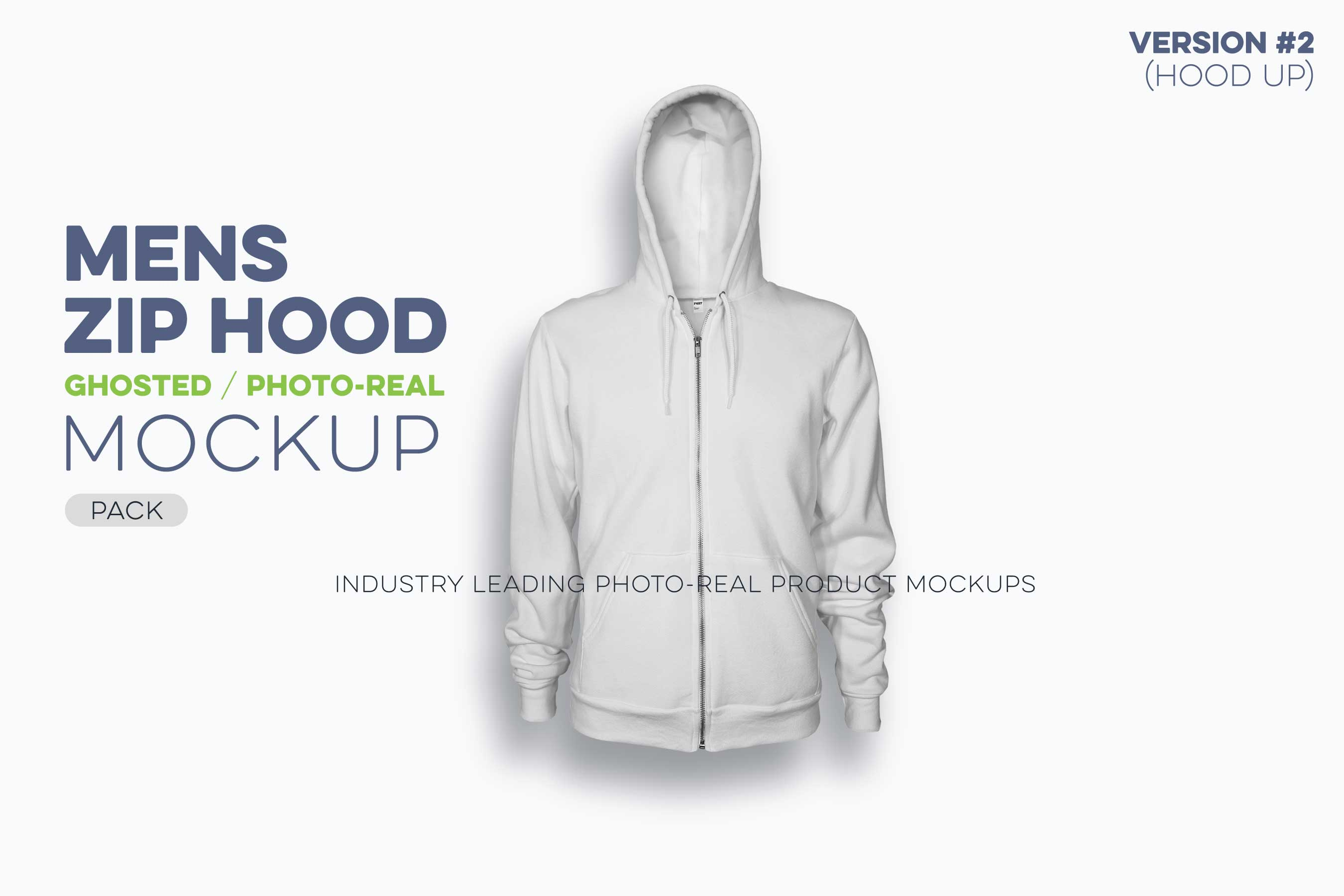 mens ghosted zip hood mockups version 2 hoodie N