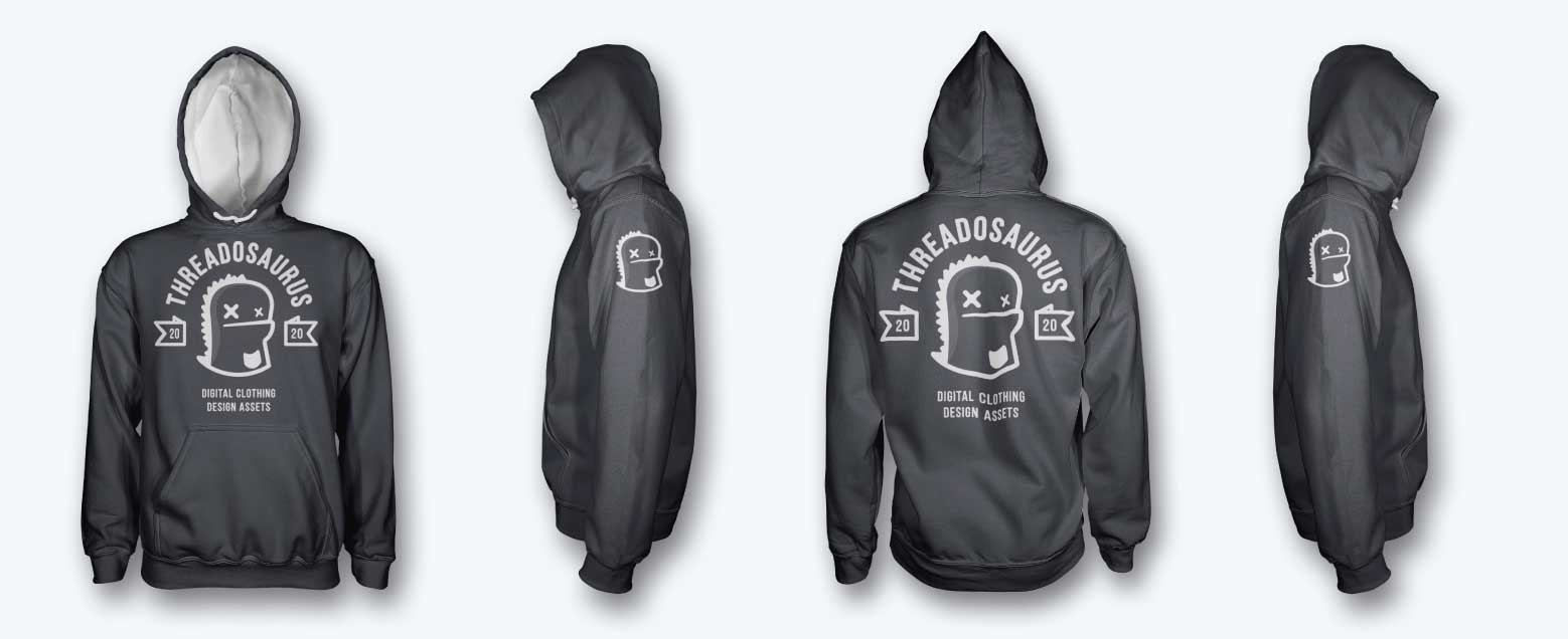 mens pullover hoodie mockup front back side hood UP