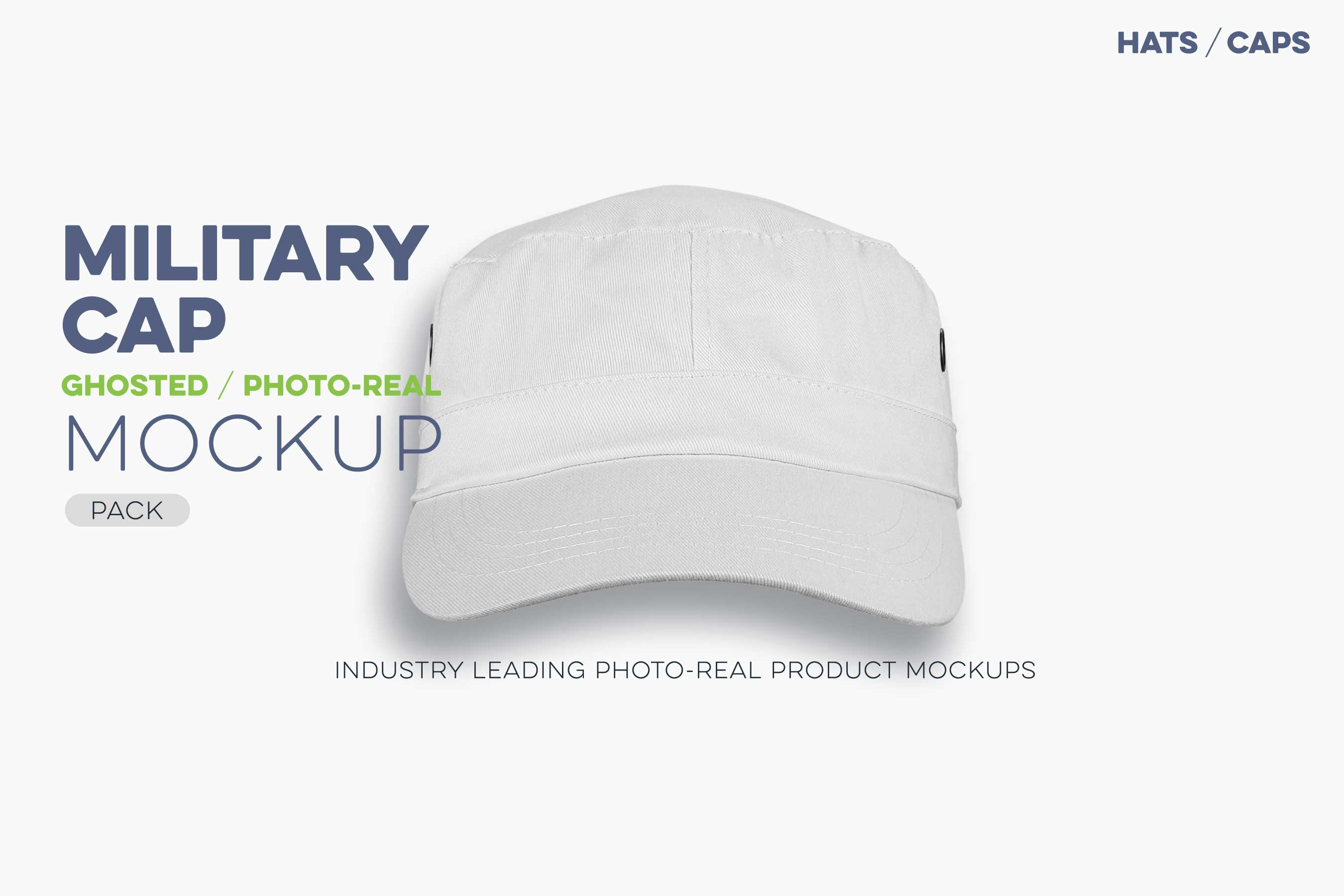 military cap mockup template ghosted baseball cap N